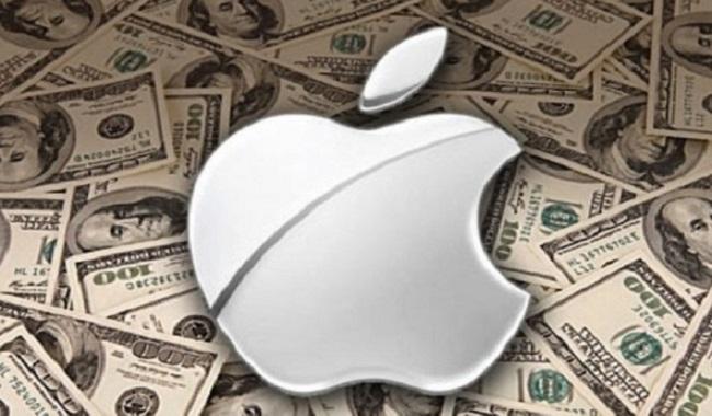 Apple gagne beaucoup d'argent