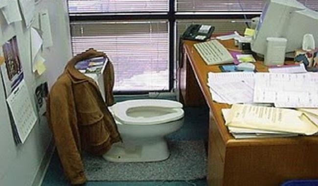 Bactérie sur le bureau