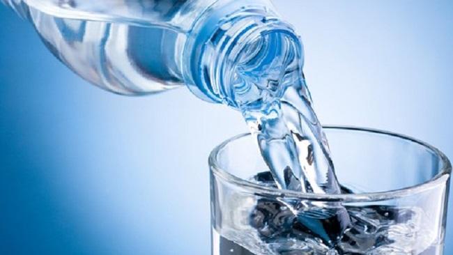 Boire de l'eau est important pour la santé