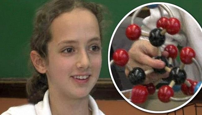 Enfant de 10 ans qui crée une nouvelle molécule