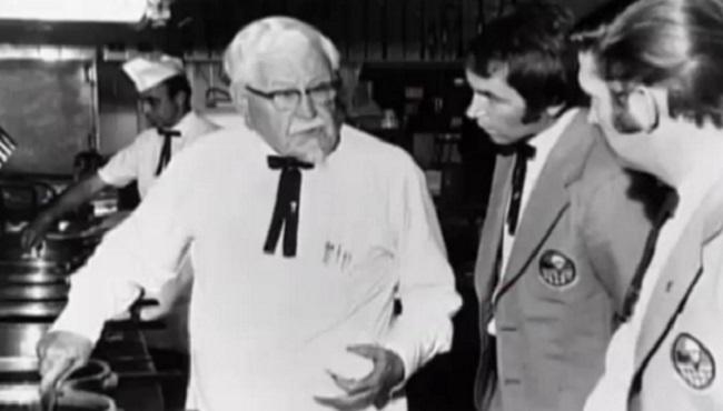 Harland David Senders KFC cuisine