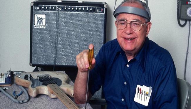 Leon Fender inventeur guitare
