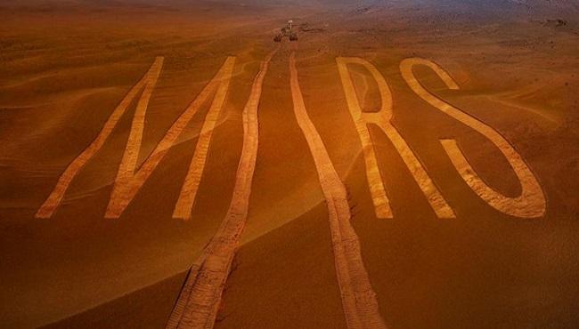 Robots sur Mars