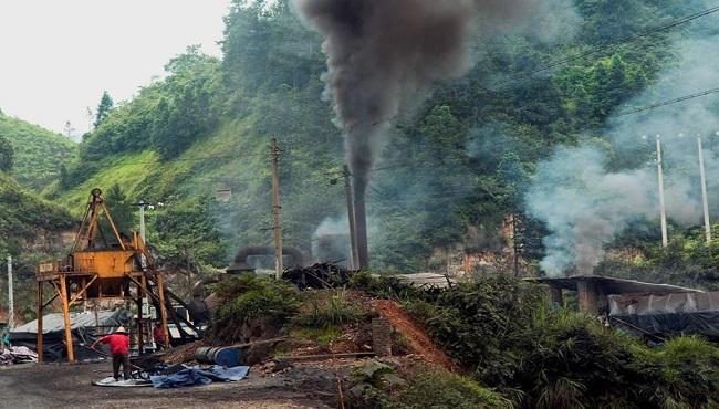 Usine Polluante Chine