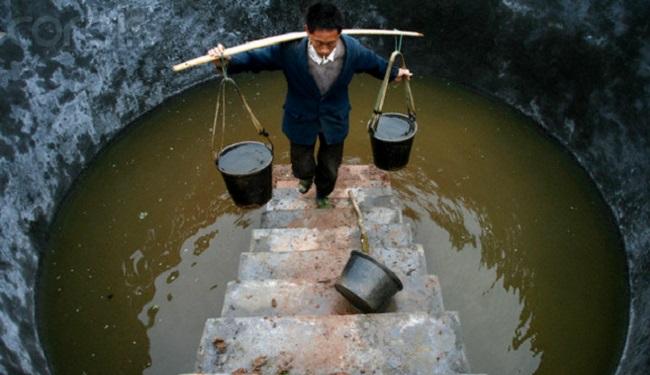 eau contaminée Chine