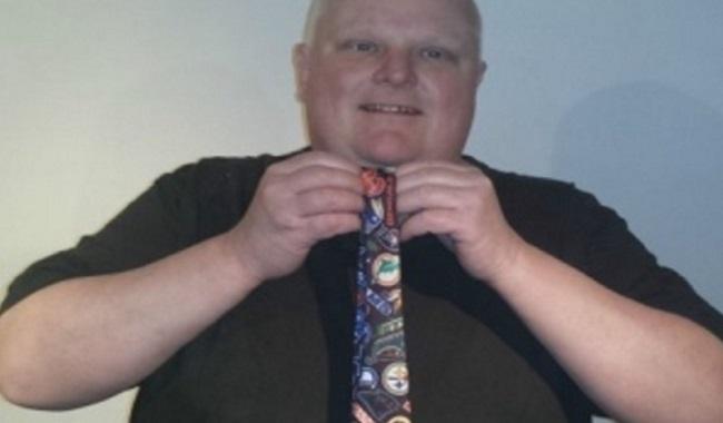 Cravatte maire de Toranto