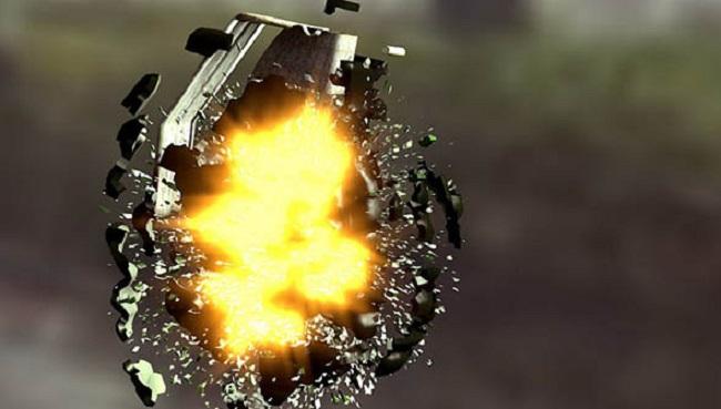 Grenade qui explose