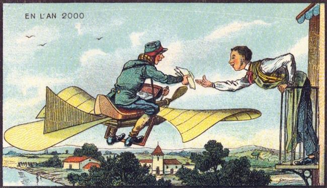 Le facteur volant