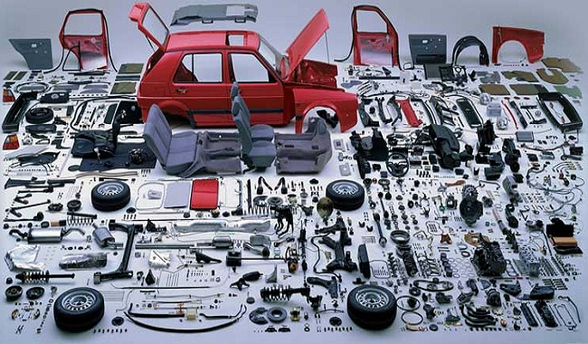 Pièces de voitures