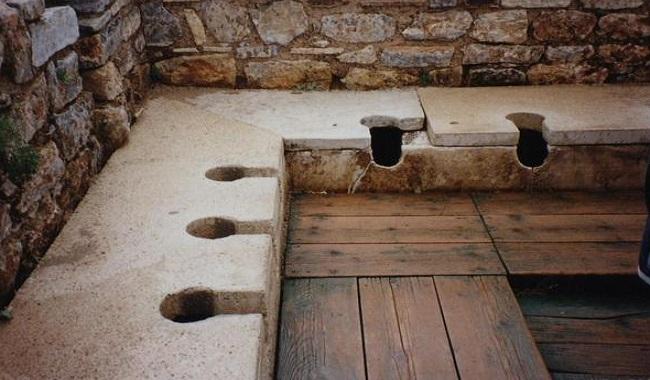 Toilettes de la Rome Antique