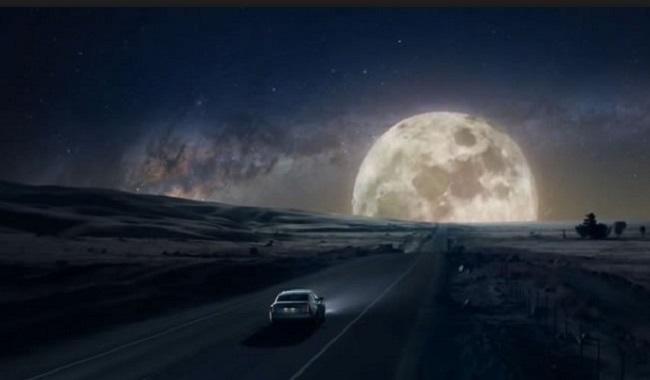 voyage en voiture pour la Lune