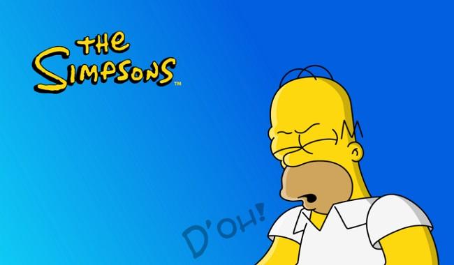 D'oh de Homer Simpsons