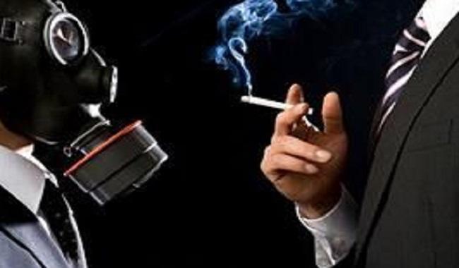 Exposition à la fumée de cigarette