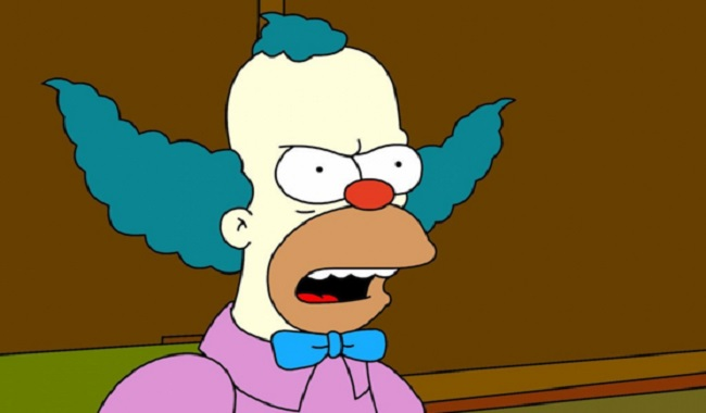 Krusty le clown des Simpsons