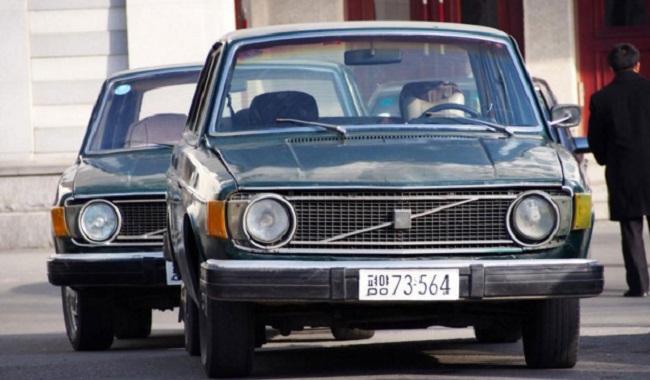 La Corée du nord vole des voitures en Suède