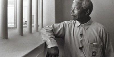 Nelson Mandela en prison