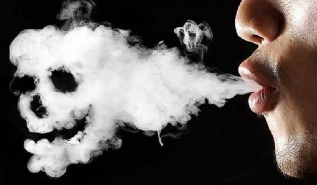 Personne qui fume