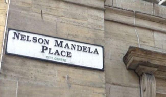 Place à Glasgow Mandela Nelson
