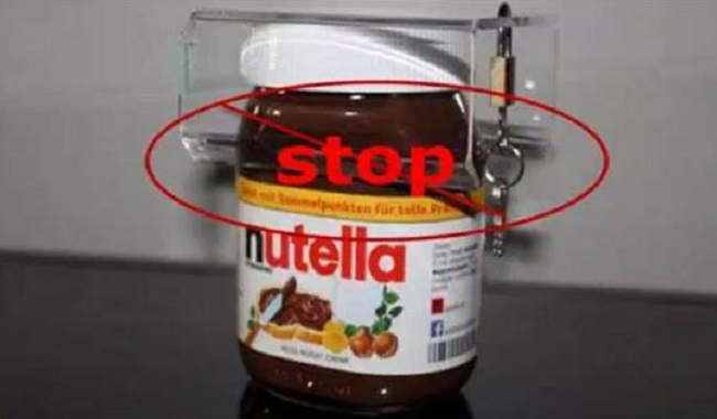Stop au Nutella