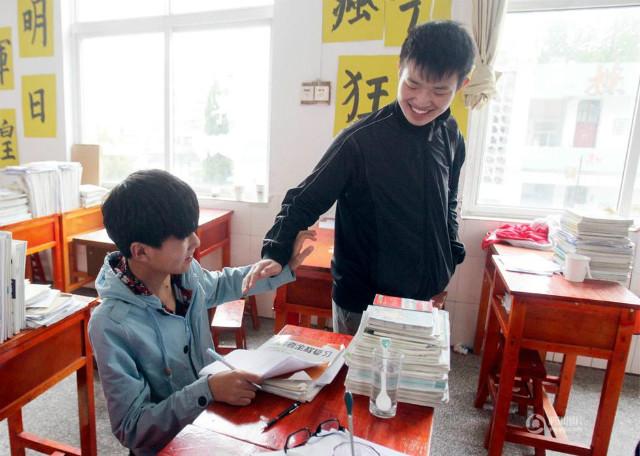 Atrophie musculaire étudiant Chine