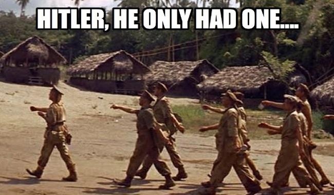 Hitler a une testicule