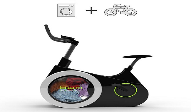 Le Bike Washing Machine