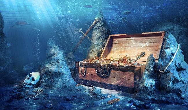 Or au fond des océans