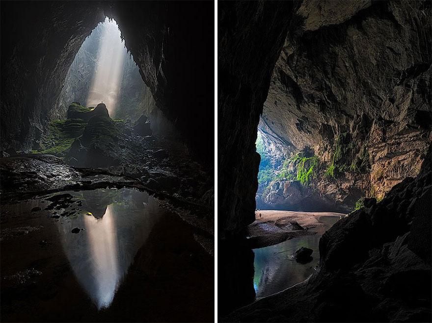 Photot entrée caverne vietnam