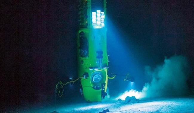 Pression profondeur océan