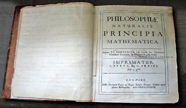 Principia Mathématica de Newton avait une erreur de calcul