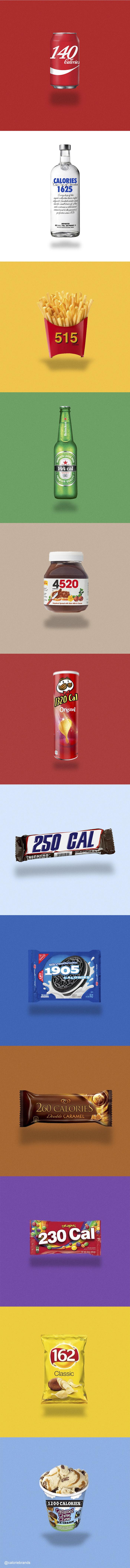 Produit qui affiche le nombre de calories