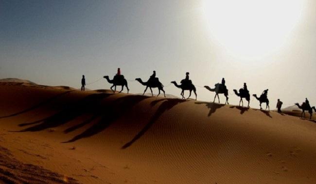 Sable du désert du Sahara