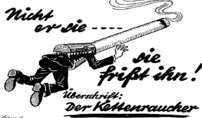 campagne anti-tabac d'Hitler