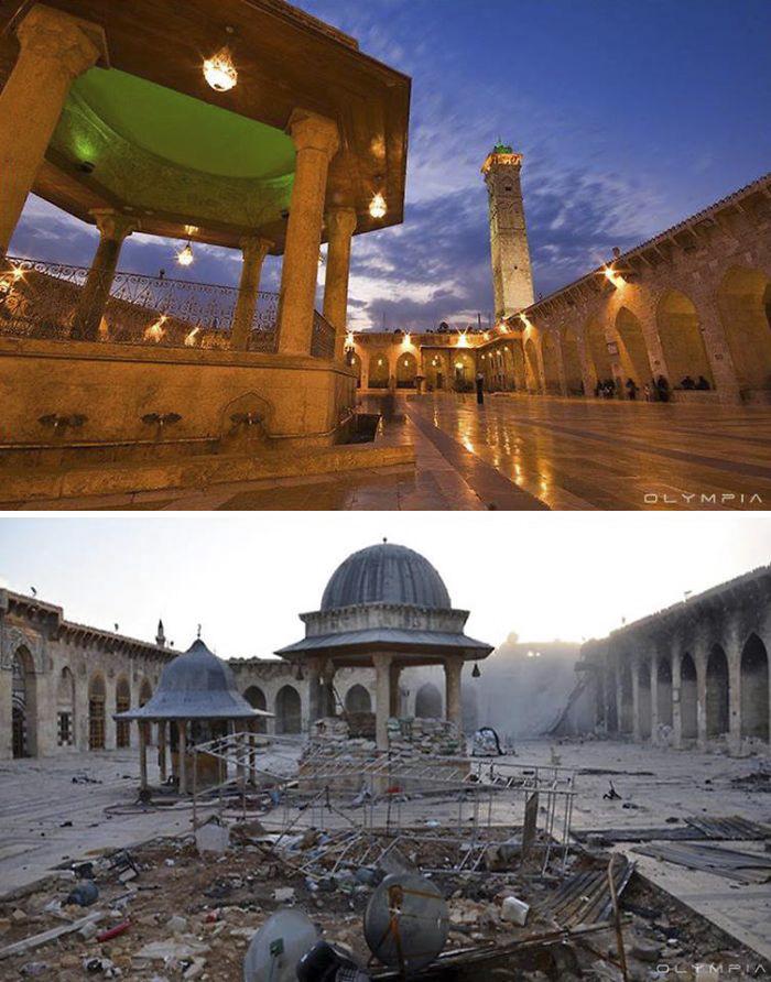 1 Photo de Syrie avant et aprés la guerre (2)