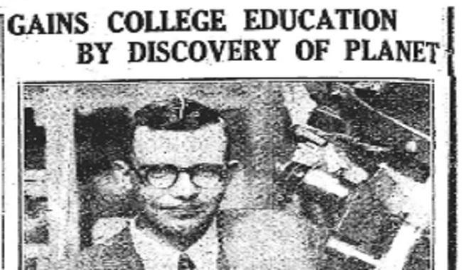 1930 découverte de Pluton