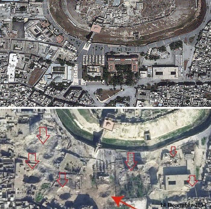 Avant et aprés la guerre en Syrie (2)