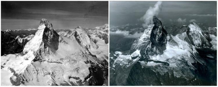 Montagne Matterhorn en Suisse