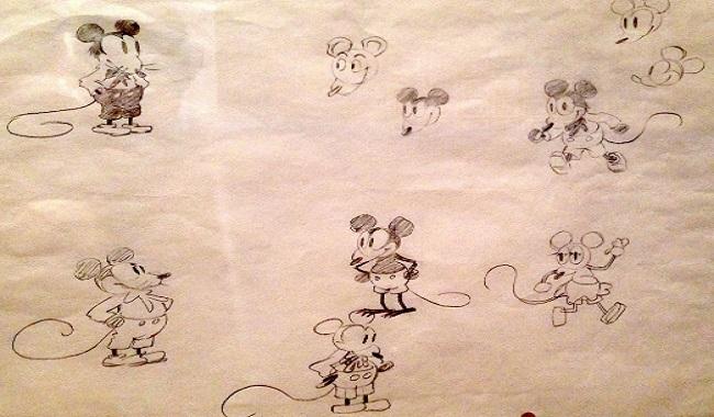 Mortimer Mouse nom originel de Mickey Mouse 2