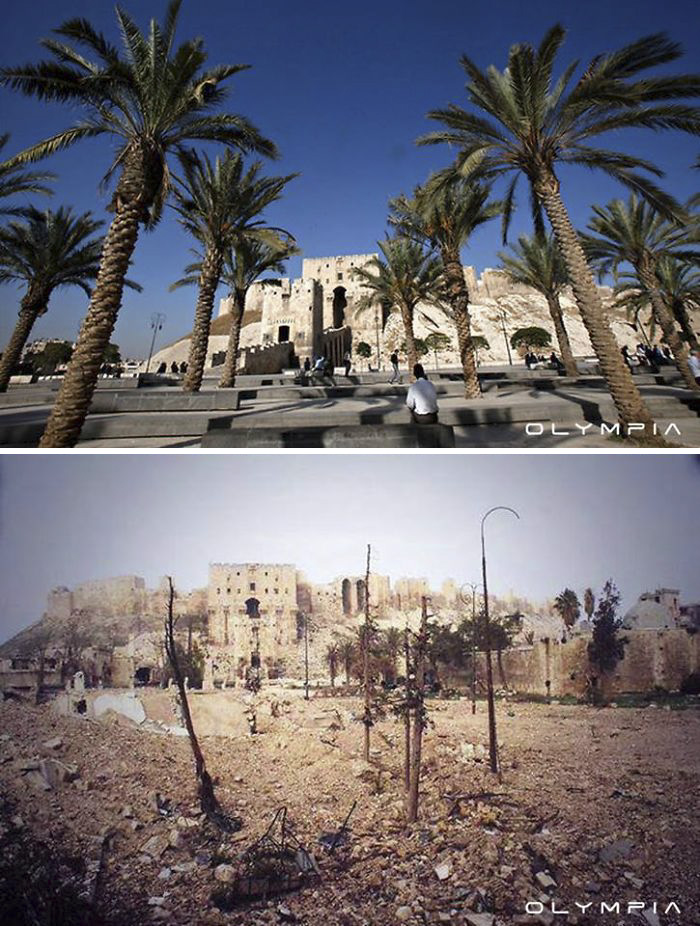 Photos Syrie avant et aprés la guerre (1)