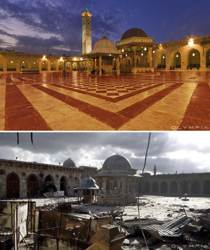 Photos Syrie avant et aprés la guerre (2)