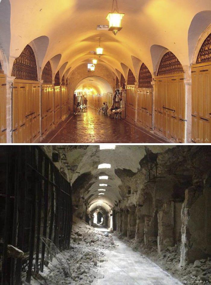 Photos guerre Syrie aprés la guerre et avant la guerre (1)