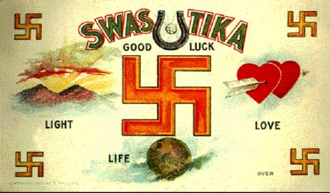 Le Swastika symbole religieux