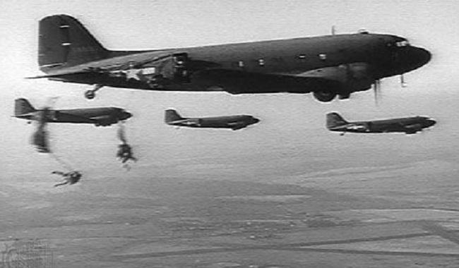 Parachutistes américains Deuxième Guerre Mondiale