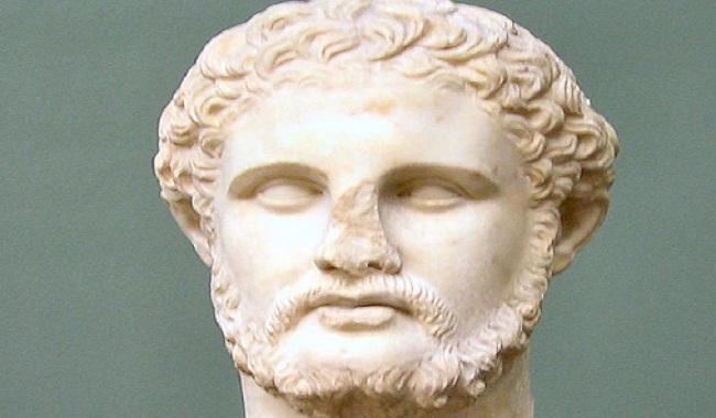 Philip II père d'Alexandre le conquérent