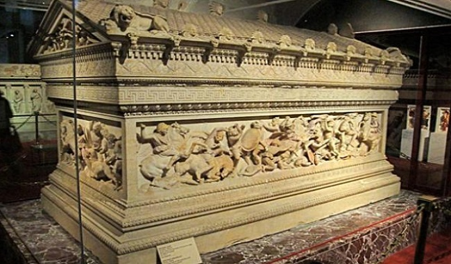 Tombeau d'Alexandre le Grand