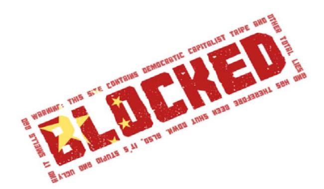 Facebook, Twitter bloqué en Chine depuis 2009