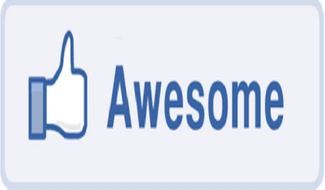 Like Facebook awesome