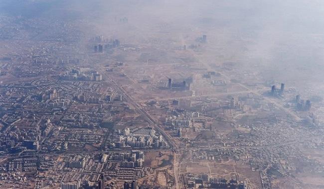 Pollution New Delhi en Inde