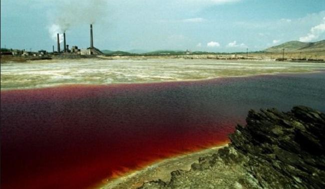 Lac Karatchaï en Russie