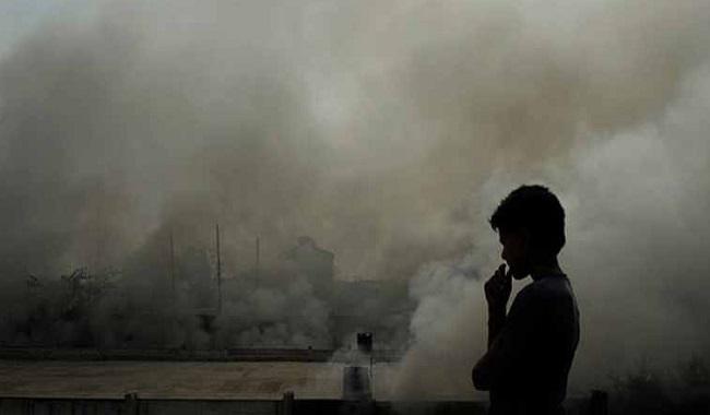 Pollution de l'air à Mumbai